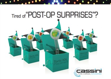 Cassini brochure - Tired of Post-Op surprises